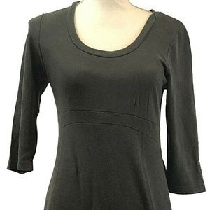 Horny Toad Gray Soft Jersey Feel Dress Size SMALL